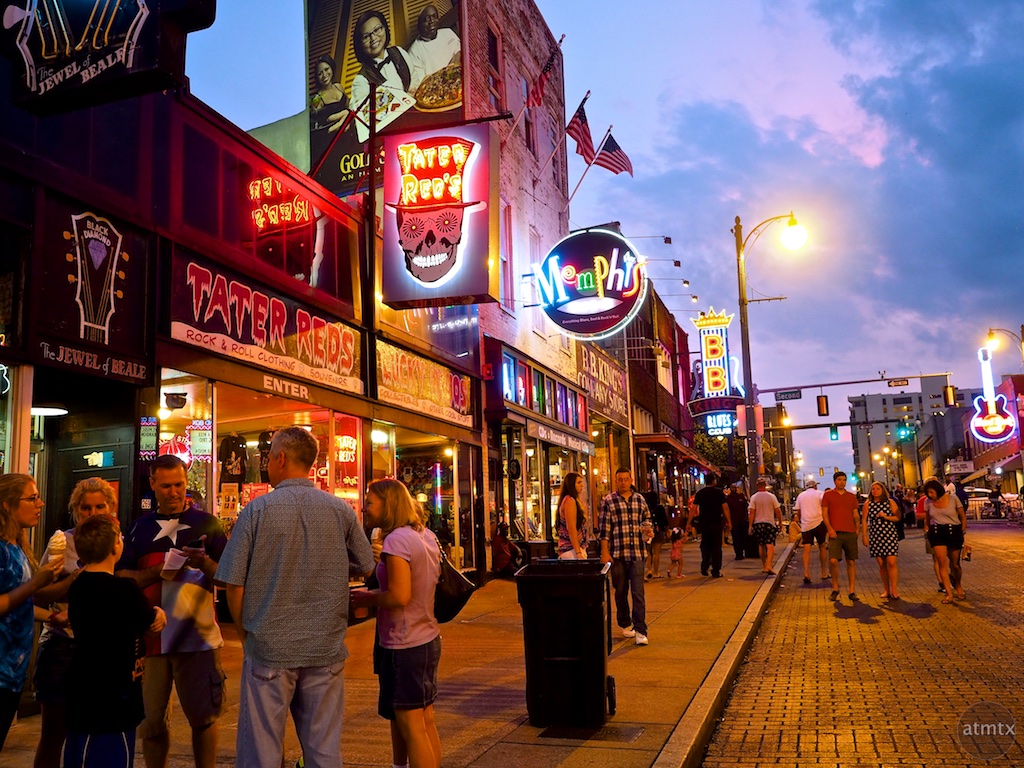 Beale Street - Memphis, Tennessee