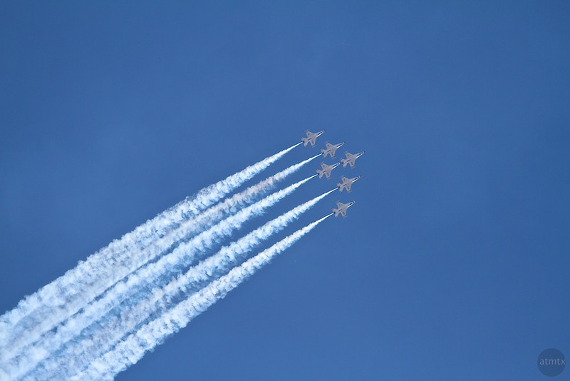 Air Force Thunderbirds - San Antonio, Texas