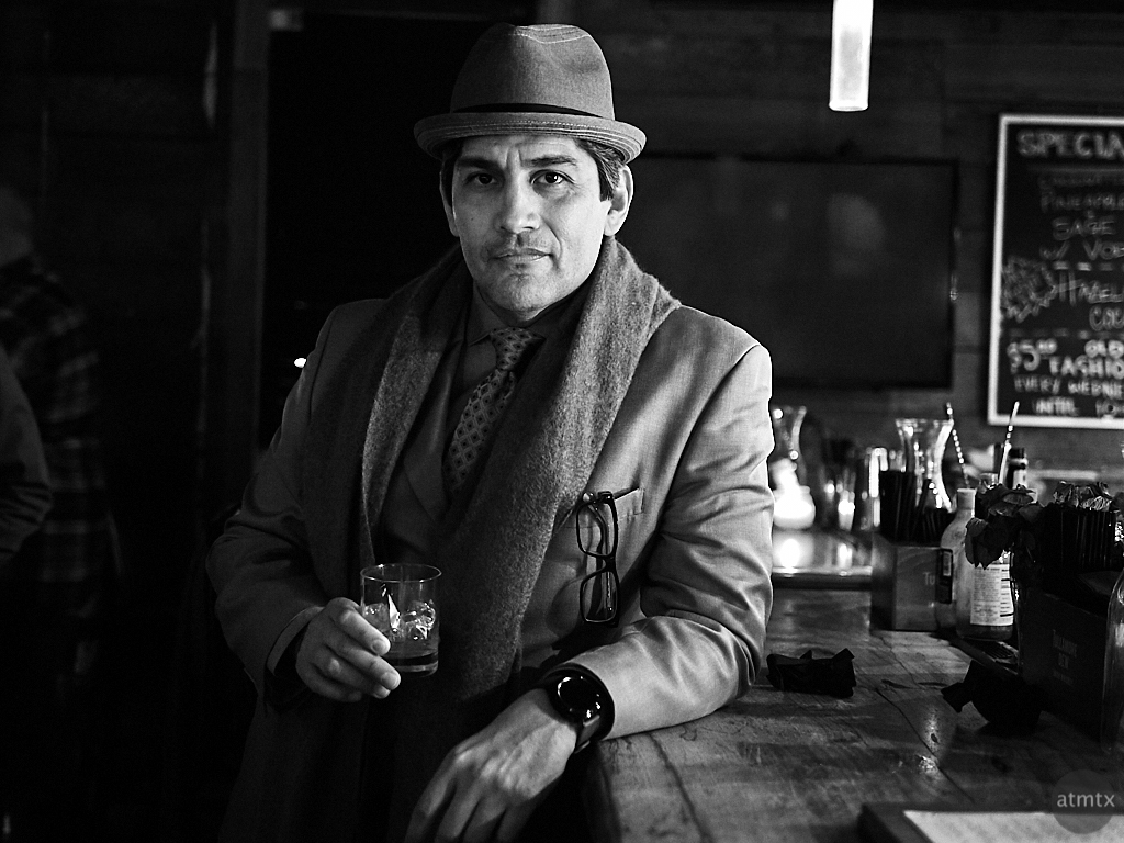 Hector, Drink and Click Portrait - Austin, Texas