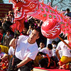 Dragon Dance Performers, 2012 Chinese New Year Celebration - Austin, Texas
