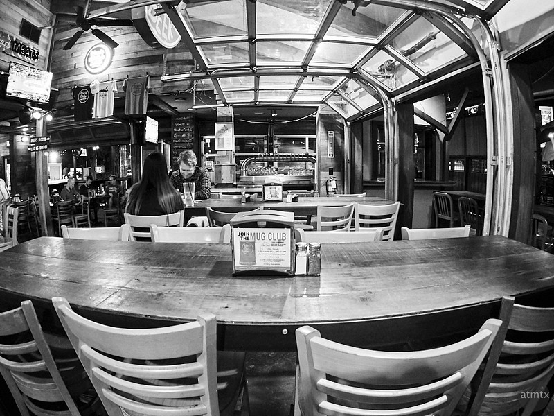 Uncle Billy's with a Fisheye - Austin, Texas