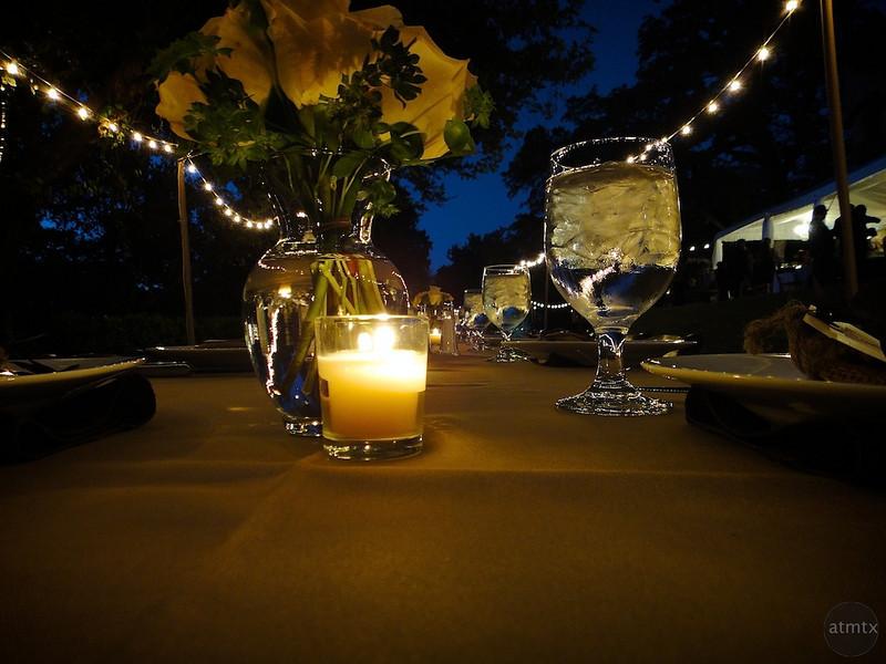 Wedding Dinner Table - Austin, Texas
