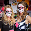 Casey and Lisa, Dia de los Muertos Booth - Austin, Texas