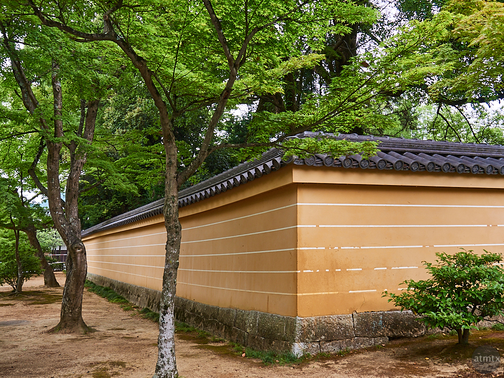 Traditional Wall, Kinkakuji - Kyoto, Japan