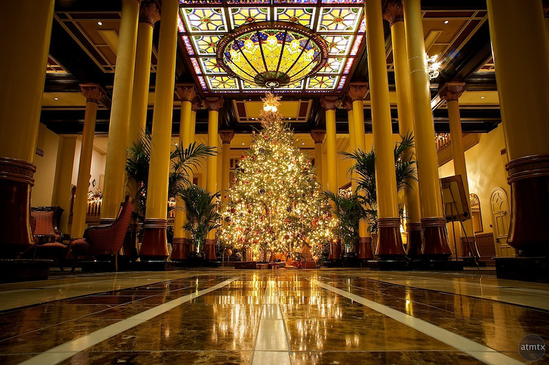 2010 Driskill Christmas Tree - Austin, Texas