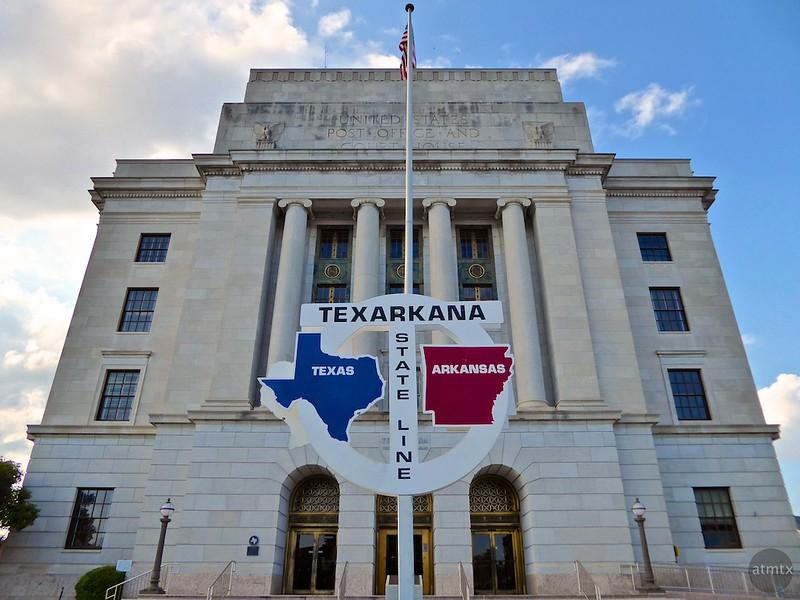 Post Office and Courthouse - Texarkana, Texas