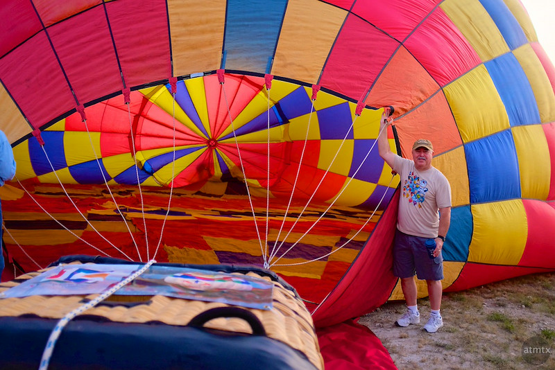 2014 Lake Travis Hot Air Balloon Flight #5 - Austin, Texas