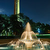 Tower and Fountain, Trinity University - San Antonio, Texas