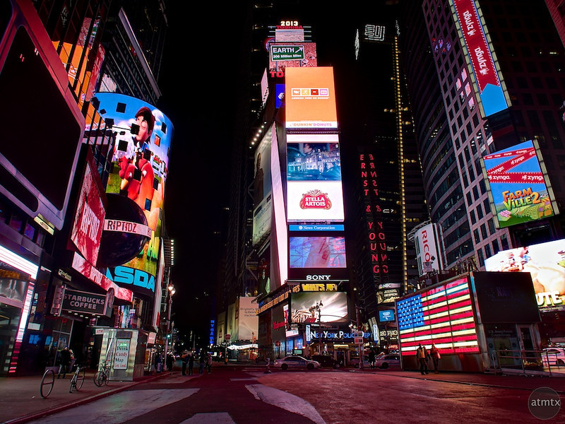 Times Square #3 - New York, New York