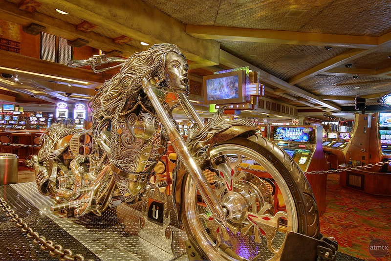 Sirens Motorcycle, Treasure Island Casino - Las Vegas, Nevada