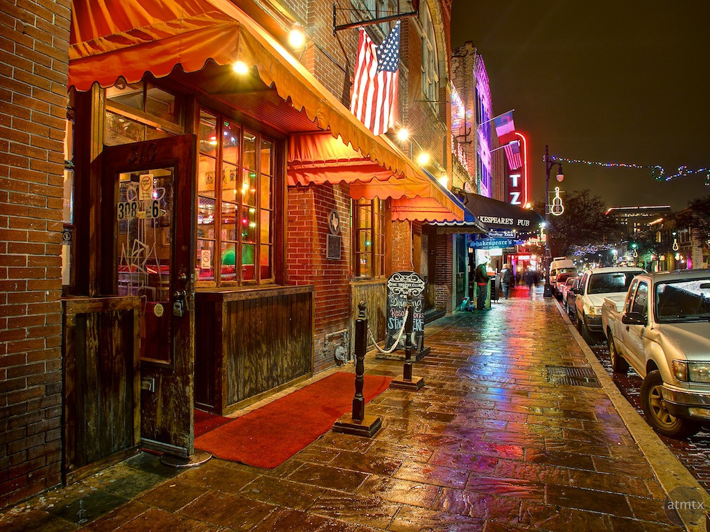 The Trophy Club, 6th Street - Austin, Texas