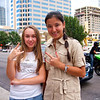 Anastasia and Dinara, Congress Avenue - Austin, Texas