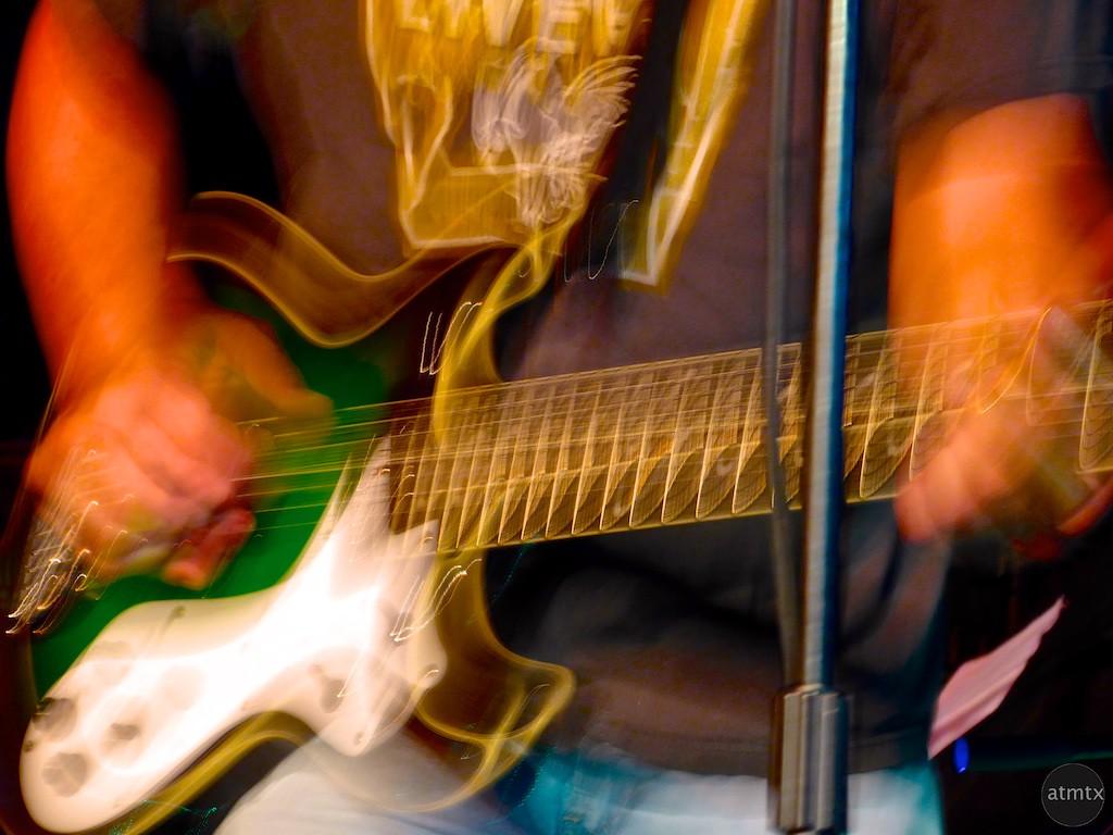Steve's Guitar, The Swamp Bats - Austin, Texas