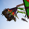 Enjoying Simulated Flight, Parking Lot Carnival - Round Rock, Texas