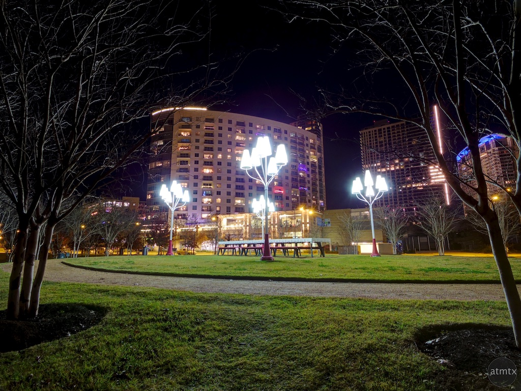 Well Lit Park - Austin, Texas