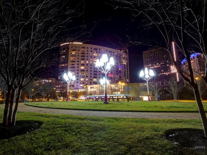 Well Lit Park - Austin, Texas