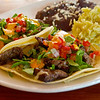Coffee Rubbed Steak Tacos, Garrido's - Austin, Texas