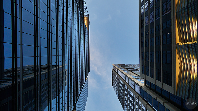 Skyscraper Reflections - Austin, Texas