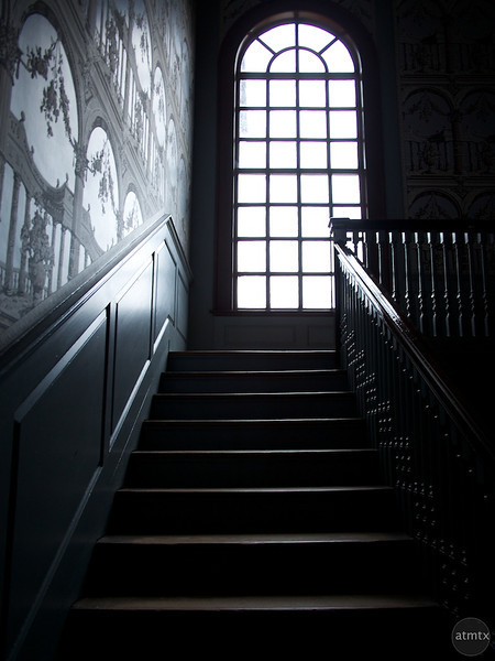Staircase, Peyton Randolph House - Williamsburg, Virginia