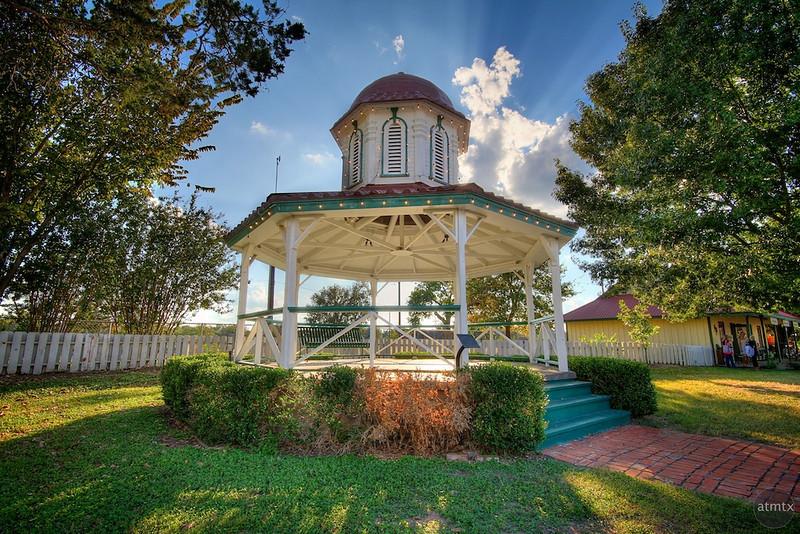 Small Town Gazebo - Smithville, Texas