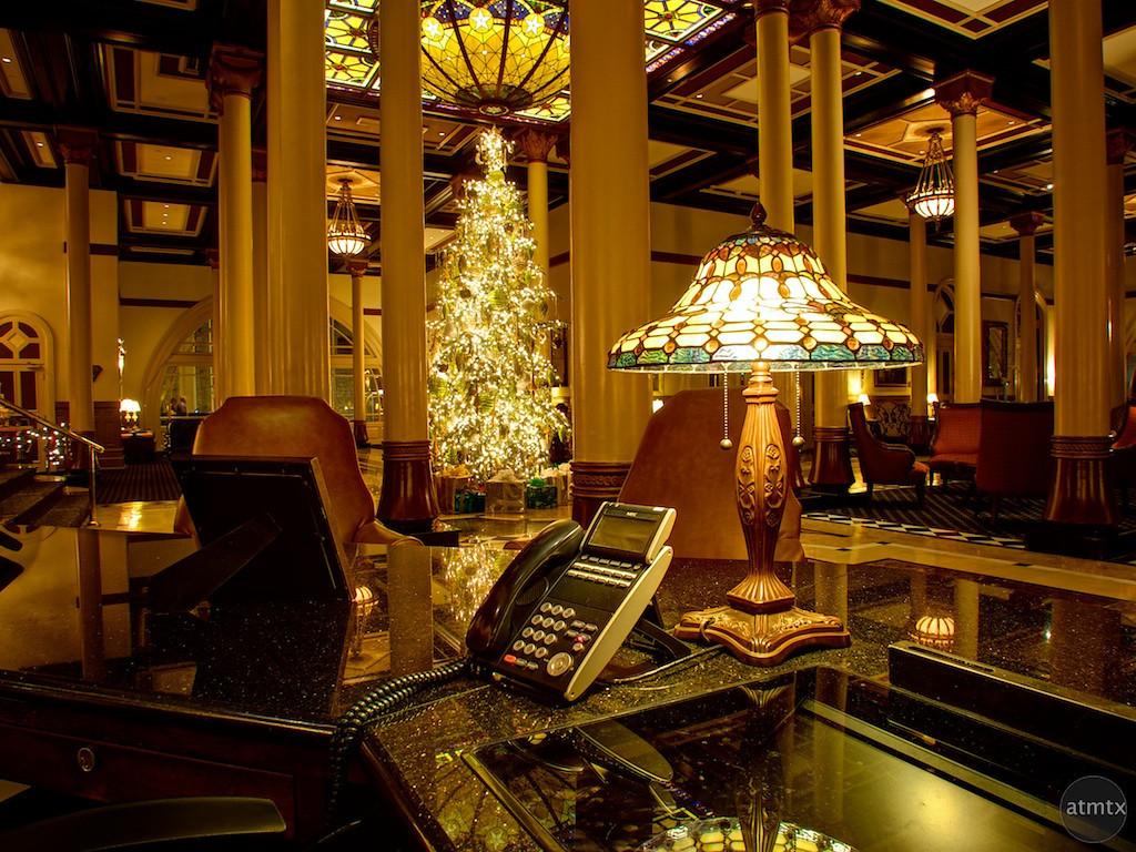 Driskill Concierge Desk - Austin, Texas