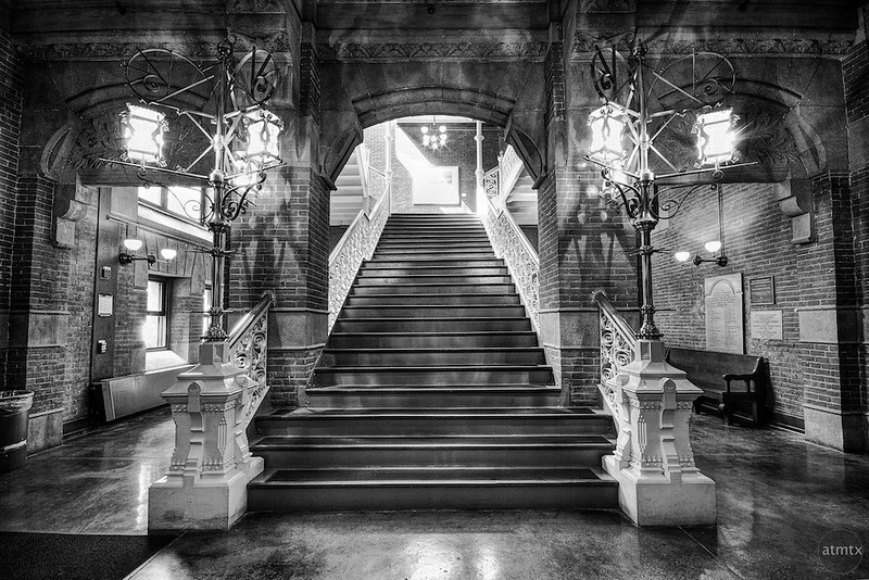 Furness Library Staircase, University of Pennsylvania - Philadelphia, Pennsylvania