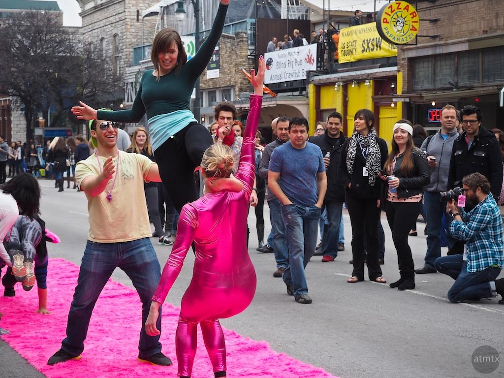 6th Street Acrobats, SXSW Interactive - Austin, Texas