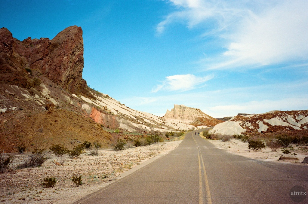 Road, Tuff Canyon #2 - Big Bend National Park, Texas
