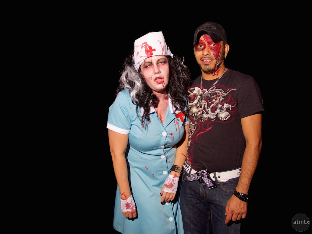Portraits, Halloween on 6th Street 2015 - Austin, Texas
