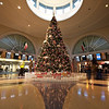 Christmas Tree, LAX American Airlines Terminal - Los Angeles, California