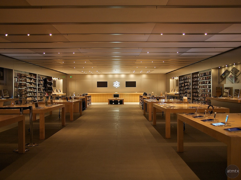 Before the Rush, Apple Store at The Domain - Austin, Texas