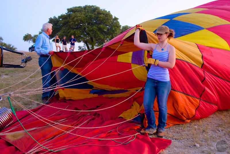 2014 Lake Travis Hot Air Balloon Flight #3 - Austin, Texas