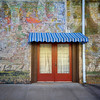 Technicolor Wall - Downtown, Smithville, Texas