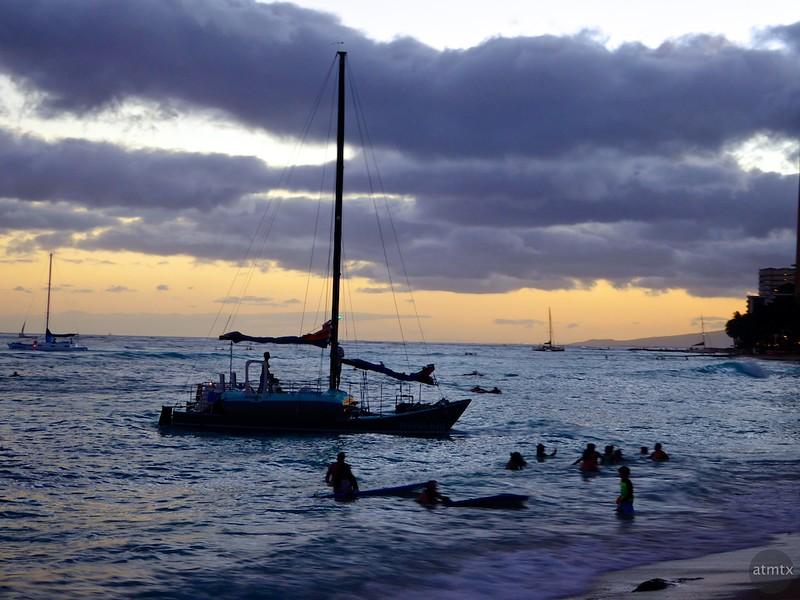The Last Excursion, Waikiki Beach - Honolulu, Hawaii