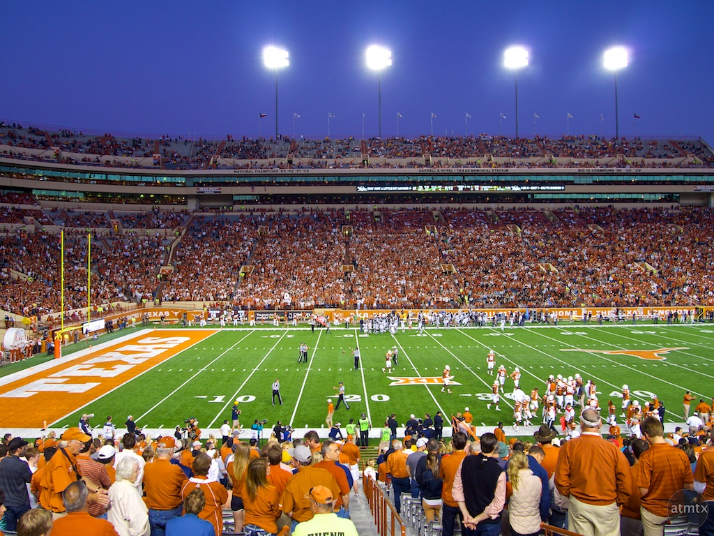 University of Texas Football - Austin, Texas