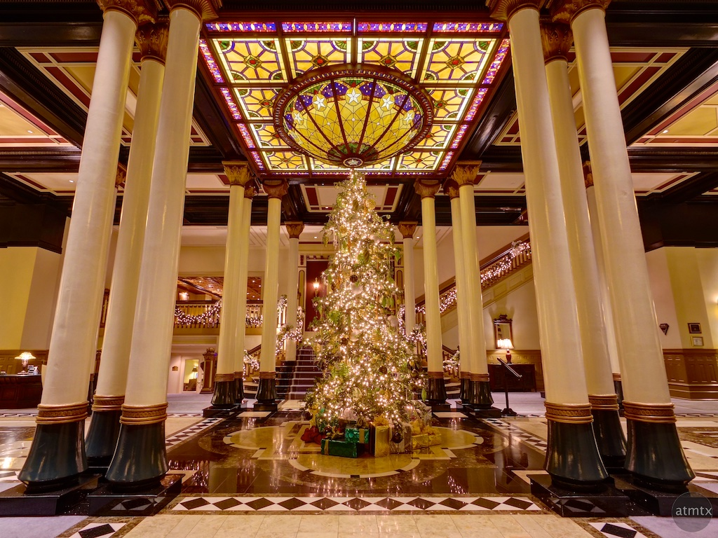 2014 Driskill Christmas Tree - Austin, Texas