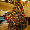 Christmas Tree, Intercontinental Hotel - Austin, Texas