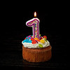 Birthday Cupcake, mostlyfotos 1st Anniversary - Austin, Texas