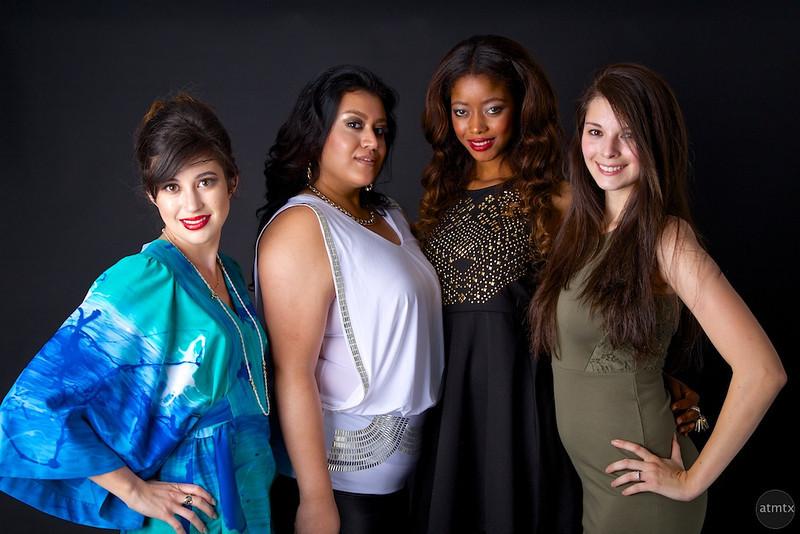 Group of Models, Jake's Birthday Party - Austin, Texas