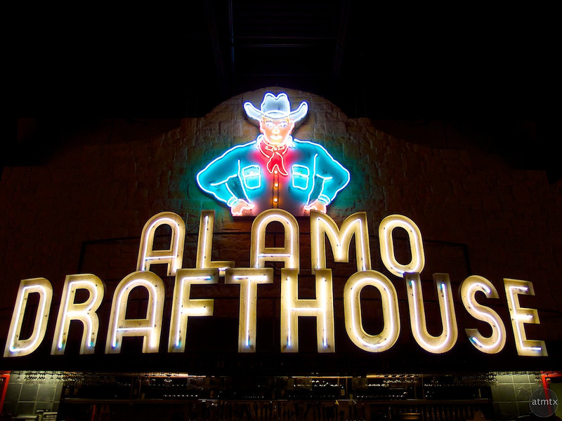 Bold Neon, Alamo Draft House - Austin, Texas