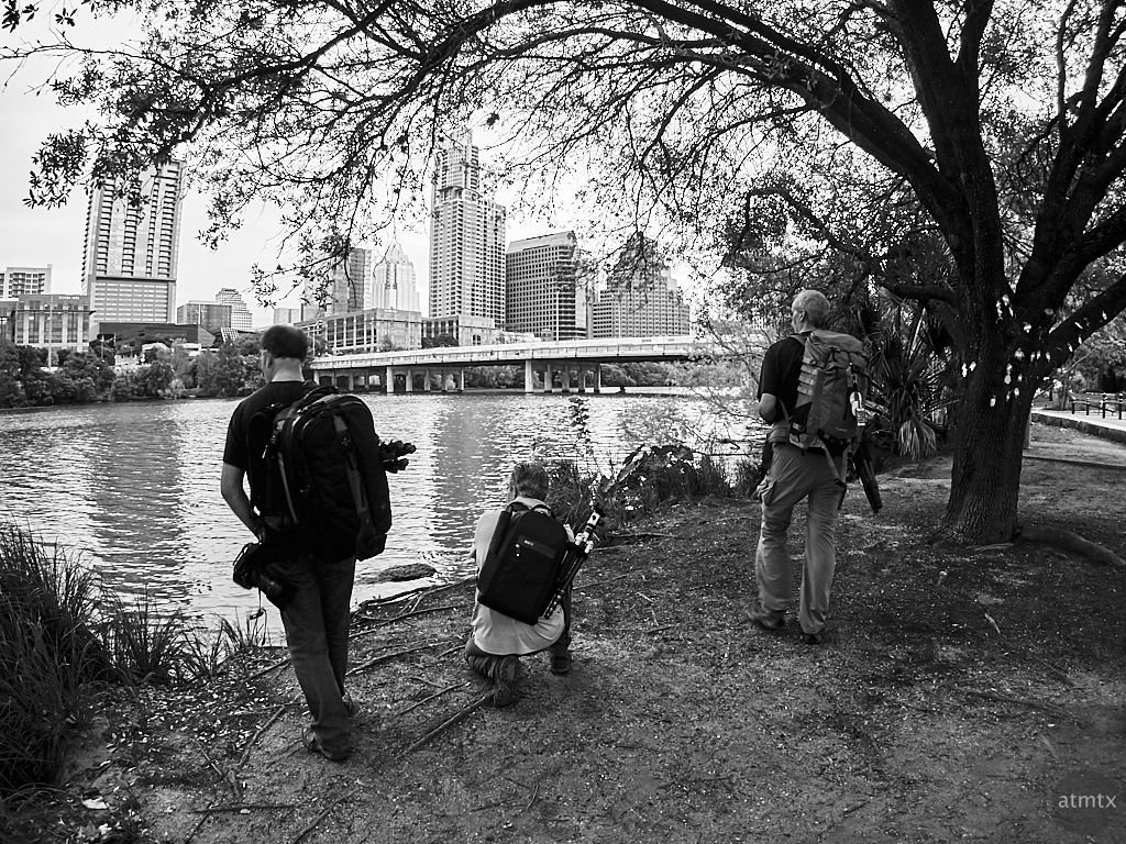 Photographers Get Ready, Auditorium Shores - Austin, Texas