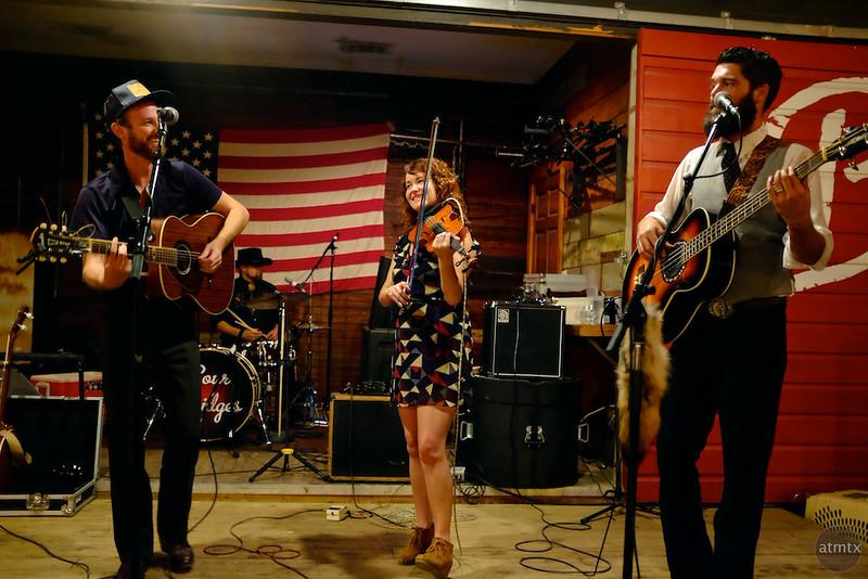 Sour Bridges Performs at Bangers, Rainey Street - Austin, Texas