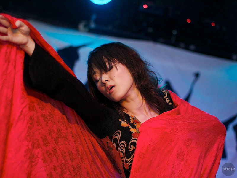 Kaori from Kaeo=S #2, SXSW Japan Nite 2012 - Austin, Texas