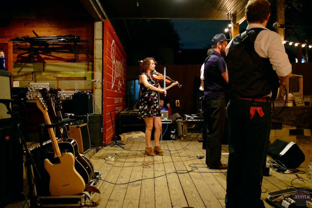 Sour Bridges Performs at Bangers, Rainey Street - Austin, Texas