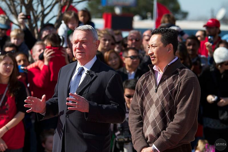 Mayor Lee Leffingwell, 2012 Chinese New Year Celebration - Austin, Texas