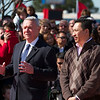 Mayor Lee Leffingwell, 2012 Chinese New Year Celebration - Austin, Texas