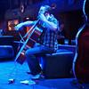 Blue Cello Closeup, Bat Bar - Austin, Texas
