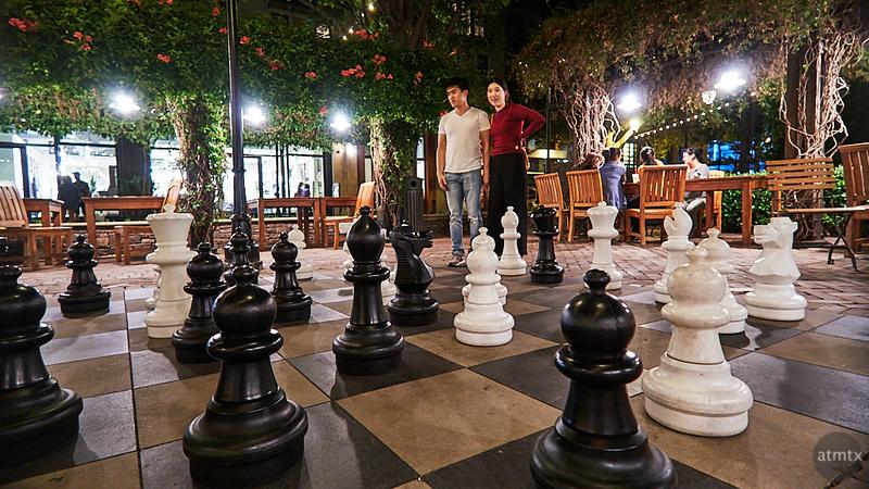 Chess, Santana Row - San Jose, California
