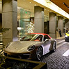 Porsche in the spot light - San Francisco, California