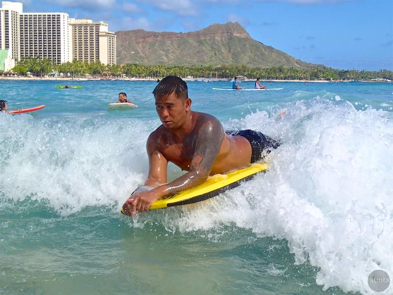 Boogie Board Dude - Honolulu, Hawaii
